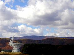 National Radio Astronomy Observatory in Green Bank, West Virginia. #experimentsinmotion