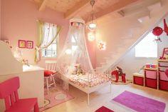 My Room, Girl Room, Princess Room, Pretty Room, Kids Room Design, Beautiful Children, Kids Bedroom, Building A House, Toddler Bed