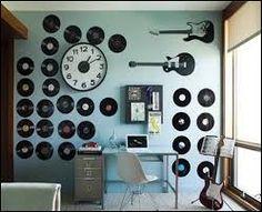 #music #decoration #clock #note #guitar #musician #flychord #digitalpiano #instrument #furniture