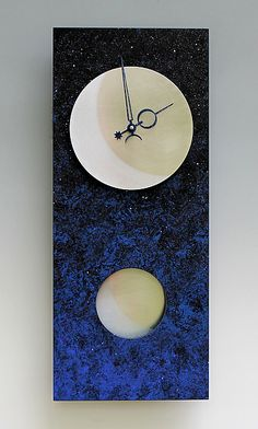 Moon at Night Pendulum Clock