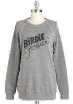 Rachel Antonoff Color Me Badminton Sweatshirt   Mod Retro Vintage T-Shirts   ModCloth.com @Shery Kearney
