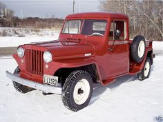 Jeep Cj, Jeep Truck, 4x4 Trucks, Classic Trucks, Classic Cars, Willys Wagon, Jeep Brand, Antique Cars, Vintage Cars