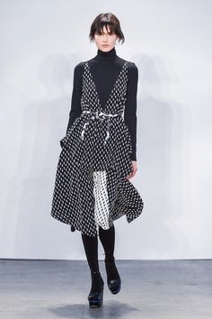 How to Layer a Turtleneck Under Your Dress | POPSUGAR Fashion