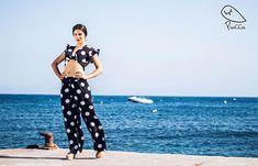 PioCCa se prepara para la Feria!  si estás interesada en alguna de estas prendas accede a la web o contacta con nosotros por cualquier red social  WWW.PIOCCA.COM #piocca #feria #lunares #almeria #blanco #negro #marca #vistepioccaenlaferia #pioccasevadeferia #flamencas Social, Harem Pants, Fan, Instagram, Fashion, Gifs, Black White, Polka Dots, Moda