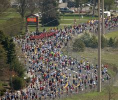 2012 Bloomsday - Im going to be in that mass of bloomies with my sister, my daughter and two of my grands.  Got to love it.
