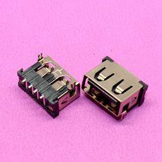 100pcs/lot 2.0 USB Jack Socket Port Connector for Lenovo / Asus / Dell / HP ... Laptop USB2.0 Port Short body