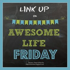 Reviews, Chews & How-Tos: Awesome Life Friday #3 (Amoda Tea Giveaway)