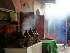 Tagines cooking @ Imlil, Morocco