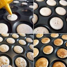 Poffertjes or dutch pancake puffs 1