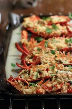 Homemade Lobster Thermidor