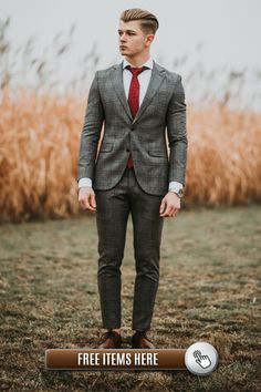 Stylish Outfits that will make you look like a true Gentleman! True Gentleman, Gentleman Style, Business Attire For Men, Formal Wear, Daily Fashion, Stylish Outfits, Suit Jacket, Make It Yourself, Suits