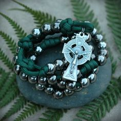 z- Custom Irish Paracord Rosary for Brian M.