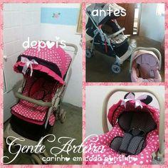 Reforma carrinho e bebê conforto Minnie