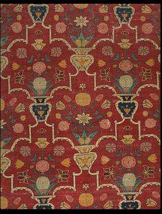 Carpet.  Lahore, Pakistan,  ca. 1650.