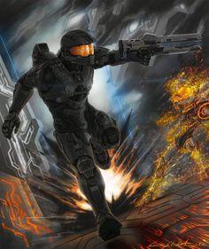Halo:117 by Ferain on DeviantArt