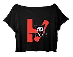 Women's Crop Top Twenty One Pilots Shirt 21 Pilots Duo Musical T-shirt (black) http://www.amazon.com/dp/B0165BB0U6/ref=cm_sw_r_pi_dp_a1lgwb1166BAP