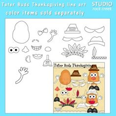 This listing is for the line art only.  The color clip art is sold separately.  Designed by Cheryl Seslar.  Terms of UseThis clip art set is copyright Cheryl Sesler/RaggedyScrappin.com. You are granted permission to use these designs as long as you adhere to the following terms.PersonalYou may use these clip art designs for any personal project that you like, be it a teaching resource or a craft.