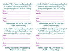Avon Representative  Business Expenses Tracking Template  Avon