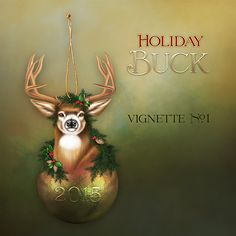 "Jaguarwoman's ""Holiday Buck Vignette #1"""