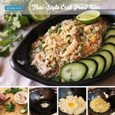Shrimp Fried Rice With Nam Prik Pao And Crispy Lemongrass Recipe ...