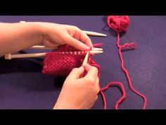 "Learn how to do the Three Needle Bind Off with Planet Purl's how-to video, taught by Beth Moriarty, author of ""Deep South Knitting."""