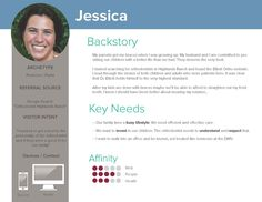 first user persona for orthodontic website design