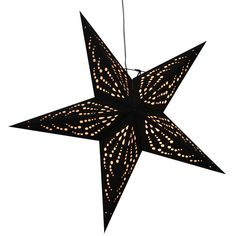 Siri Black star lamps  http://www.29june.com/index.php/paper-stars.html
