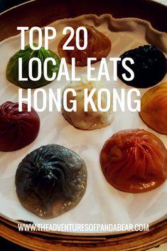 Top 20 Local Eats Hong Kong - The Adventures of Panda Bear