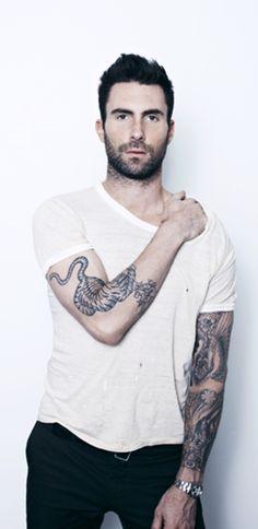 Adam Levine #meow #hellogoodness