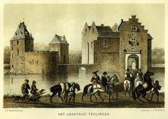 Het Jachtslot Teylingen - Sassenheim 1854-1888 (thans ruine)