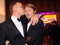 Mads Mikkelsen and Mikael Persbrandt