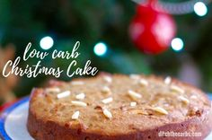Christmas Cake Coeliac And Diabetic Recipe