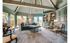 Situated on .5 of an acre this elegant French Traditional built by Robert Mitchell has been meticulously renovated by the current owners in collaboration with Landscape Architect Harold Liedner.  A consideration for everyday living is evident throughout home and is further enhanced by the use of...