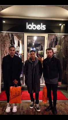 Our Amsterdam friends in our style @labelsfashion