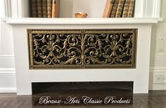 radiator cover with our Louis XIV decorative grille