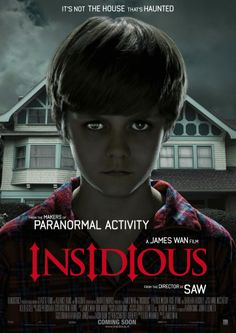 HOLY MOTHER OF PEARL, I thought the conjuring was scary....OMG....insidious was defiantly a scare...Jesus....OMG has anyone seen this?? And how is the 2 one? Man, I had nightmares about the red lipstick faced guy....OMG when you see the person dancing in the ladies new house but no ones there...and lol I laughed so hard when the girl with the shot gun killed the people but when the dad turns around and sees them all smile creepily...I laughed so hard...lol this was really good tho!