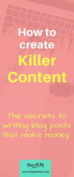Beginner SEO secrets plus a content strategy that will make your blog posts helpful, informative and will bring in lots of traffic.