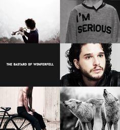 Jon Snow- Modern AU.