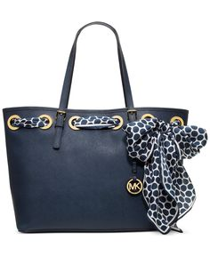 MICHAEL Michael Kors Handbag, Jet Set Medium Scarf Tote - Handbags & Accessories - Macy's