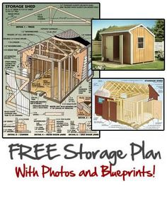 Wooden Storage Shed Plans 9263240974 Build A Shed Kit, Building A Shed, Building Plans, Storage Shed Kits, Shed Builders, Small Woodworking Projects, Wood Shed, Small Buildings, Outdoor Sheds