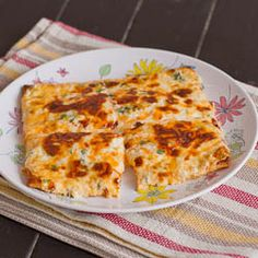Cheesy Flat Breads