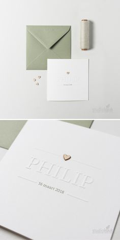 Minimalistic card boy with embossing / embossing. Because of this you get a … - Kinderzimmer Invitation Cards, Wedding Invitations, Baby Announcement Cards, Future Boy, Baby Zimmer, Graphic Design Print, Nursery Design, Baby Hacks, Baby Love