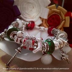 Christmas Pandora bracelet