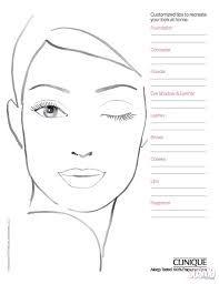 croqui de rosto para maquiagem– Google Поиск Face Charts Mac, Face Template Makeup, Face Stencils, Makeup Workshop, Makeup Face Charts, Face Sketch, Face Painting Designs, Creative Makeup, Mode Style