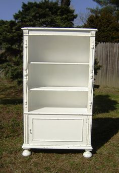 Gorgeous Antique  White Shabby Chic Book by seasidefurnitureshop