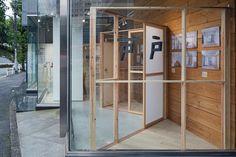photo(C)Kenta Hasegawa / Yusuke Fujita / Camp Design inc. designed a space of his architectural exhibition in prismic gallery, tokyo, japan.