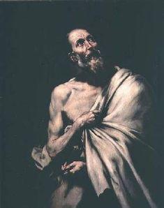 José (ou Jusepe) de Ribera - St. Bartholomew Renaissance Art, Saints, Statue, The Louvre, Museums, Chalkboard Canvas, Event Posters, Sculptures, Sculpture