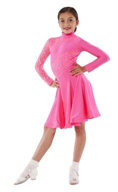 Details About Red Girls Ballet Salsa Dancewear Costumes