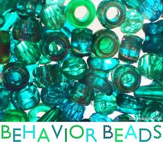 behavior beads as a discipline/teaching technique...An interesting idea for children, do you think dogs could get a hang of it though?