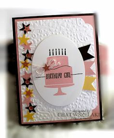 Me, My Stamps and I: features Stampin Up's Party Wishes stamp set
